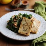 Grilled tofu with lemon & rosemary