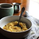 Creamy Polenta: An easy vegan breakfast