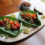 Collard Leaf Tacos with Walnut Taco Filling