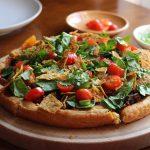 Black Bean Taco Pizza – a taste of nostalgia