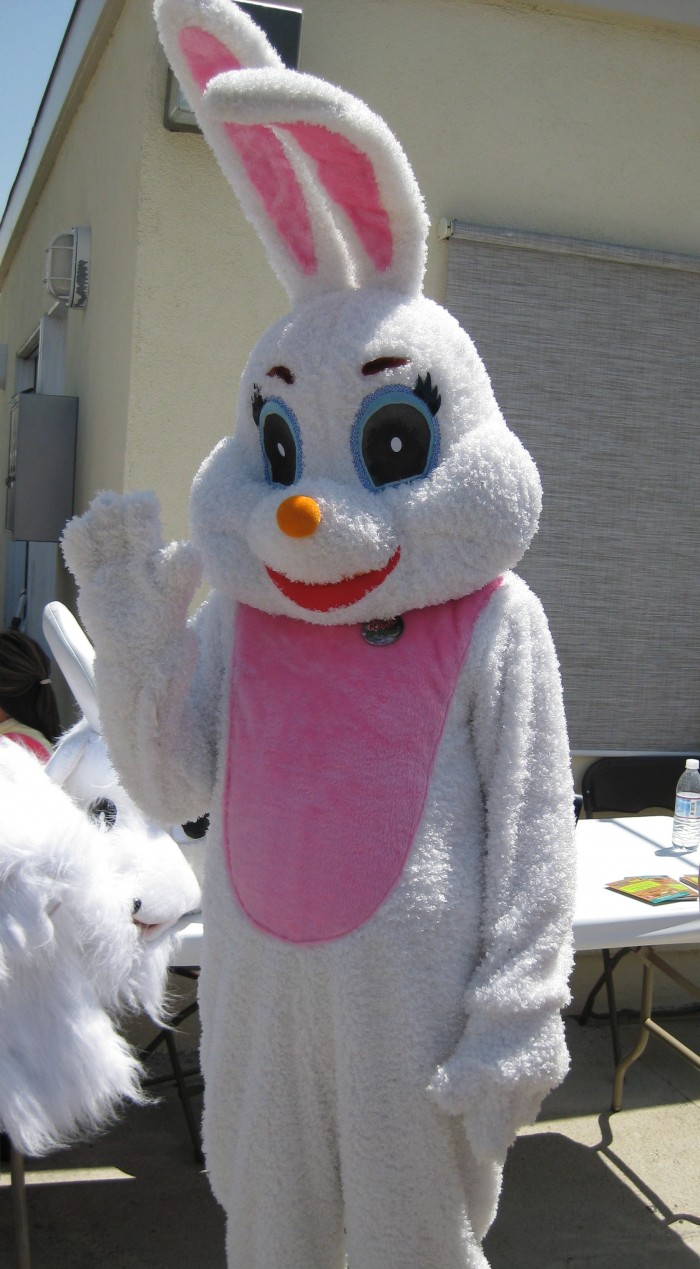 My most memorable Easter was the year I went to a stranger's house dressed as the Easter Bunny.