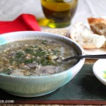 Double Lentil and Mushroom Barley Soup