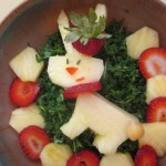 An Easter-themed Salad Recipe + The Year I Was the Easter Bunny