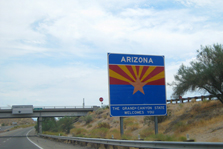 Arizona highway sign.