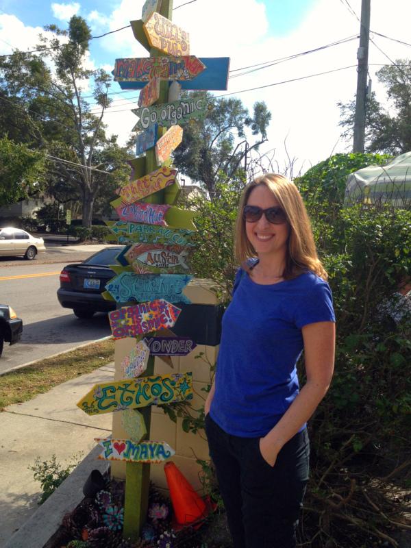 dandelion signpost