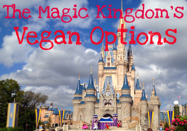 magic kingdom vegan options