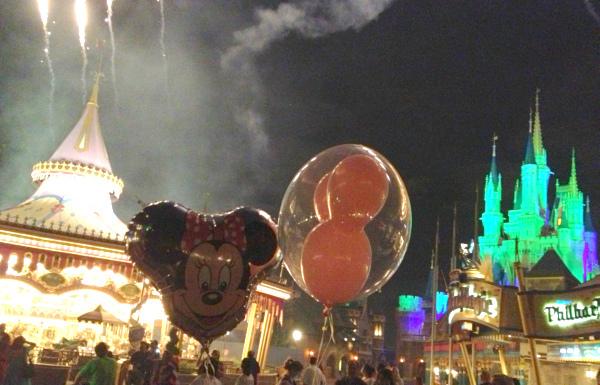 balloons & fireworks