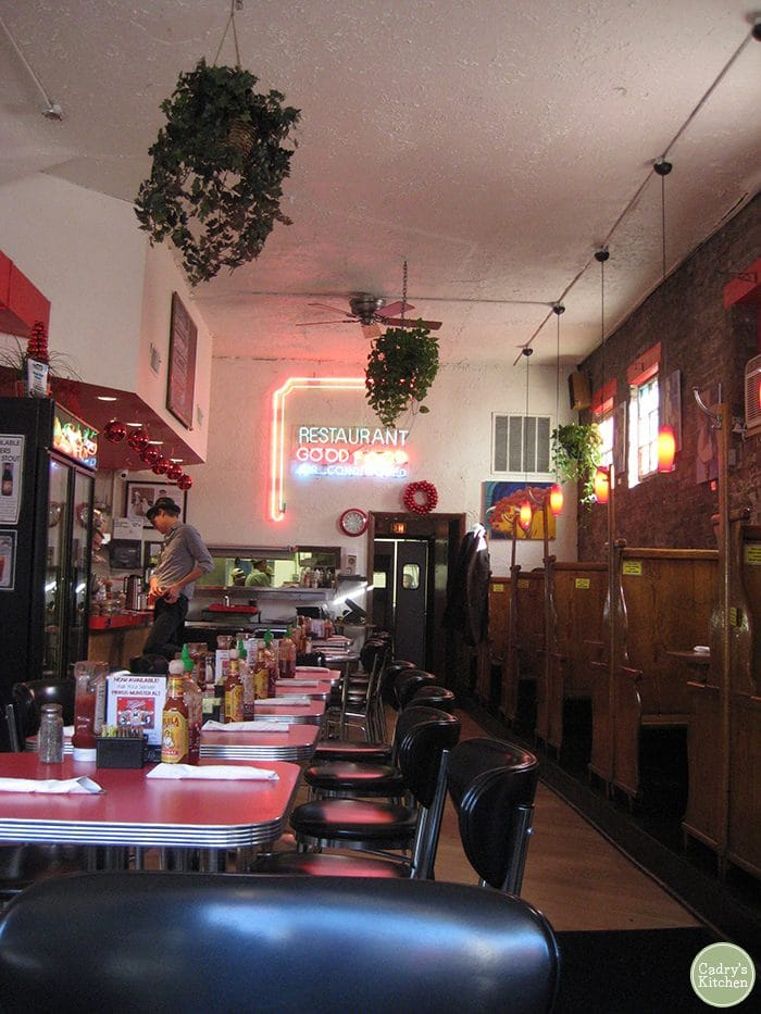 Interior Chicago Diner on Halsted