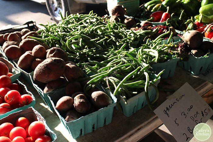 green-beans-farmers-market