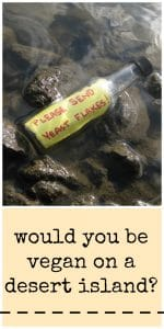 """Bottle in rocks with a message that says, """"Please send yeast flakes."""""""