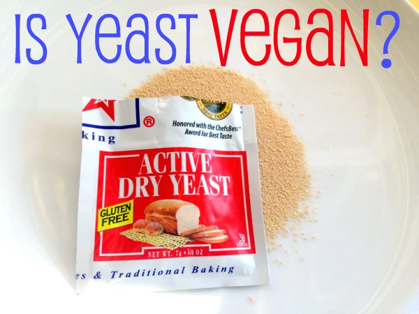 Is yeast vegan?