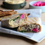 Double Hummus Wraps: A great grab & go lunch