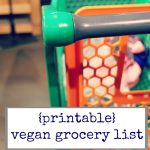This is my printable vegan grocery list! Here's an easy way to get started stocking a vegan pantry. | cadryskitchen.com