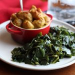 Tender & garlicky easy collard greens