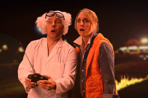 David & Cadry as Doc & Marty