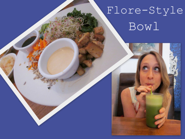 Flore-style bowl