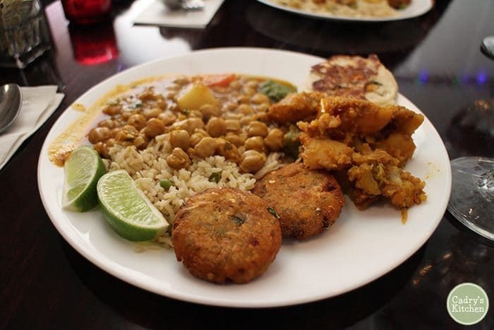 Review Shree Indian Vegetarian Restaurant Cadry S Kitchen