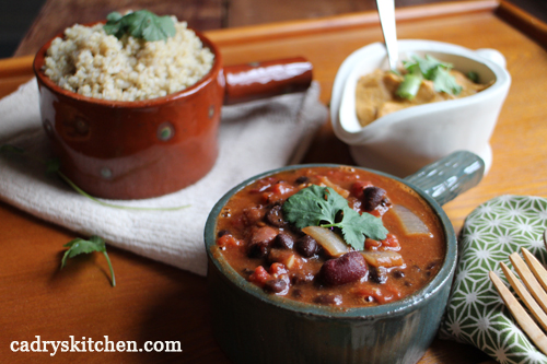 Southwestern Chili & Cauliflower Queso