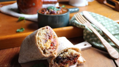Southwestern Chili Cheese Burrito