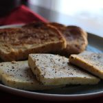 5 Minute Vegan Breakfast:  Eggy Tofu & Toast