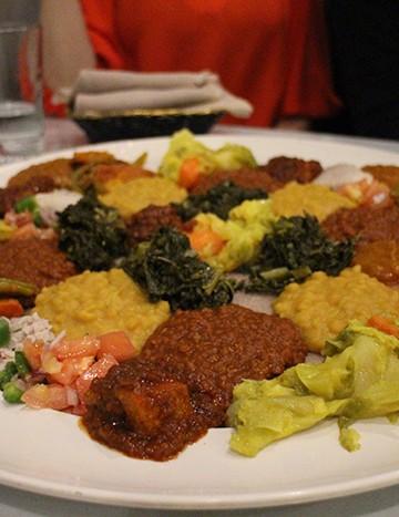 Rahel Ethiopian Restaurant: A 100% vegan Ethiopian restaurant in Los Angeles, California   cadryskitchen.com