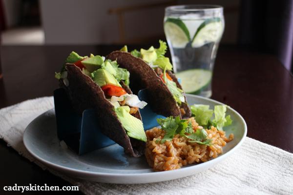 Calypso bean tacos