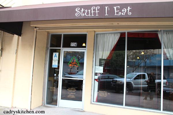 Stuff I Eat - a vegan restaurant in Inglewood, California