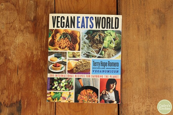 Cover of Vegan Eats World by Terry Hope Romero