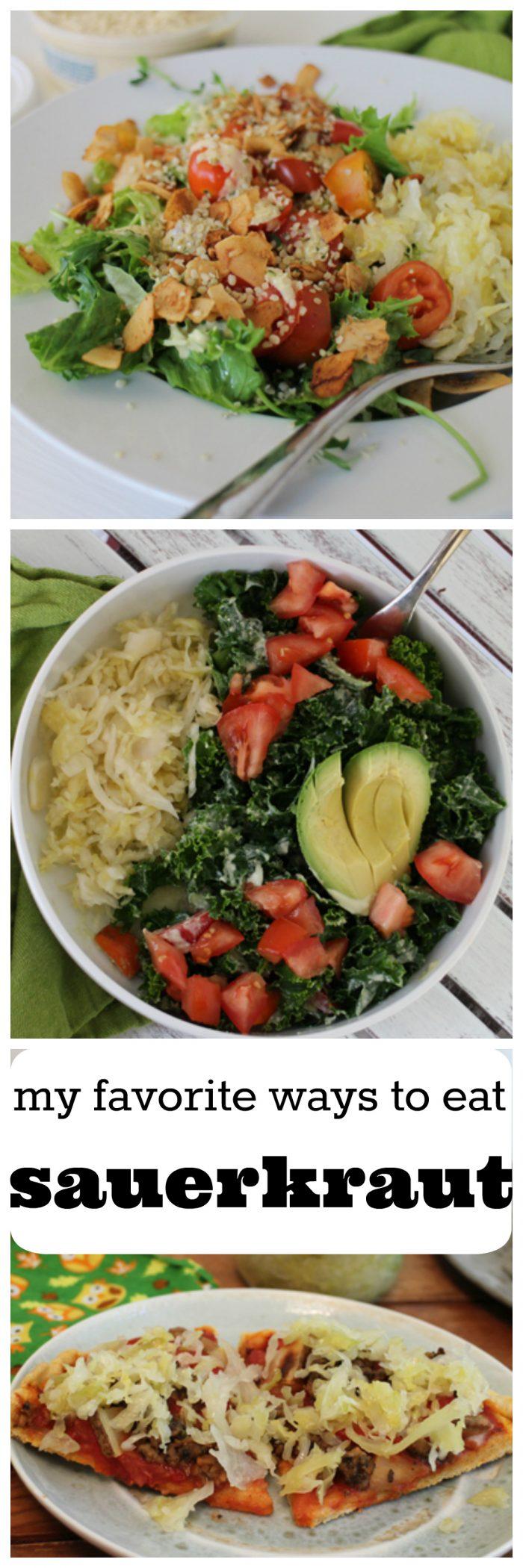 My favorite ways to enjoy sauerkraut | cadryskitchen.com #vegan