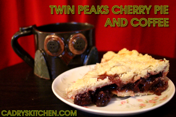 Twin Peaks - cherry pie and coffee