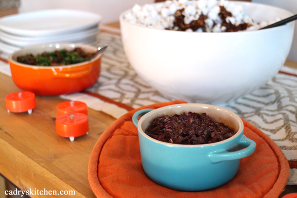 Baked Tapenade & Caramelized Onion Dip