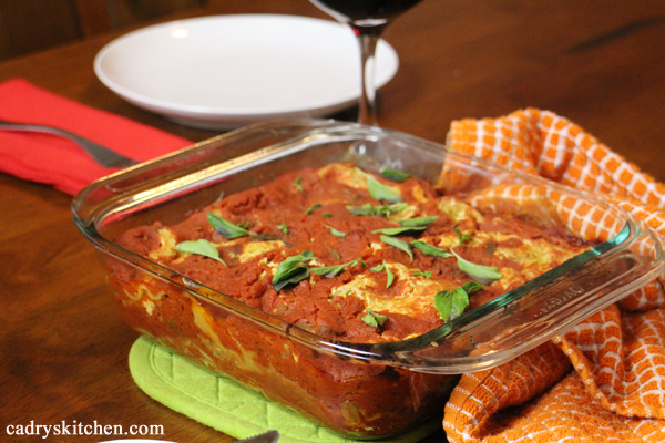 Zucchini Basil Lasagna - Vegan Casseroles by Julie Hasson