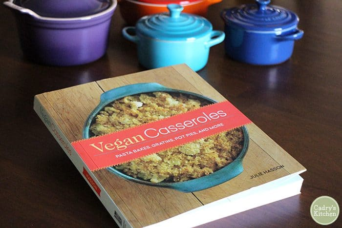 Cover of Vegan Casseroles by Julie Hasson.