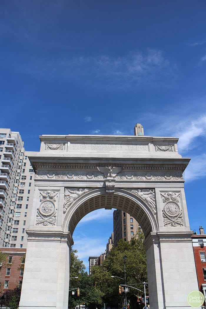 Washington Square Park: New York travel