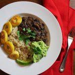 Boozy Black Bean & Rice Bowls