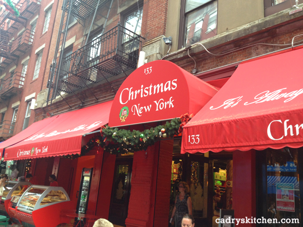 Christmas in New York store - NYC