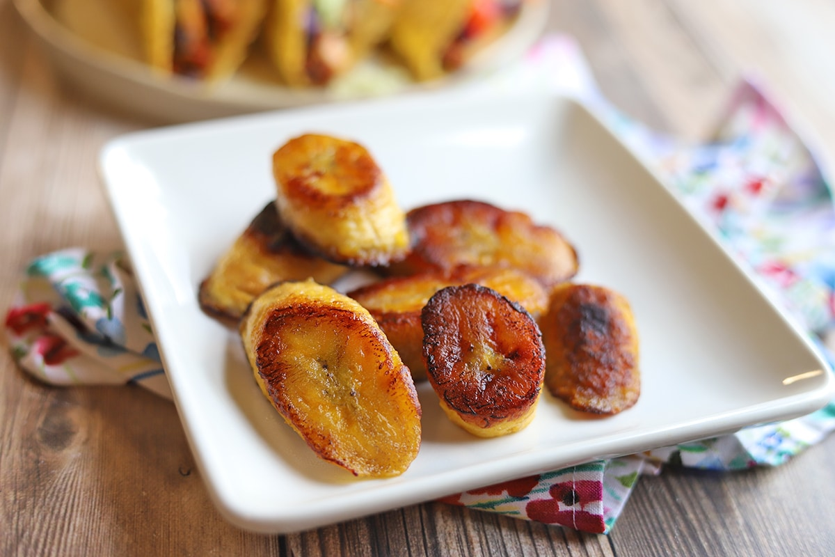 Sweet Fried Plantains Maduros Cadry S Kitchen