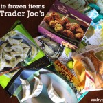 3 Favorite Frozen Items at Trader Joe's