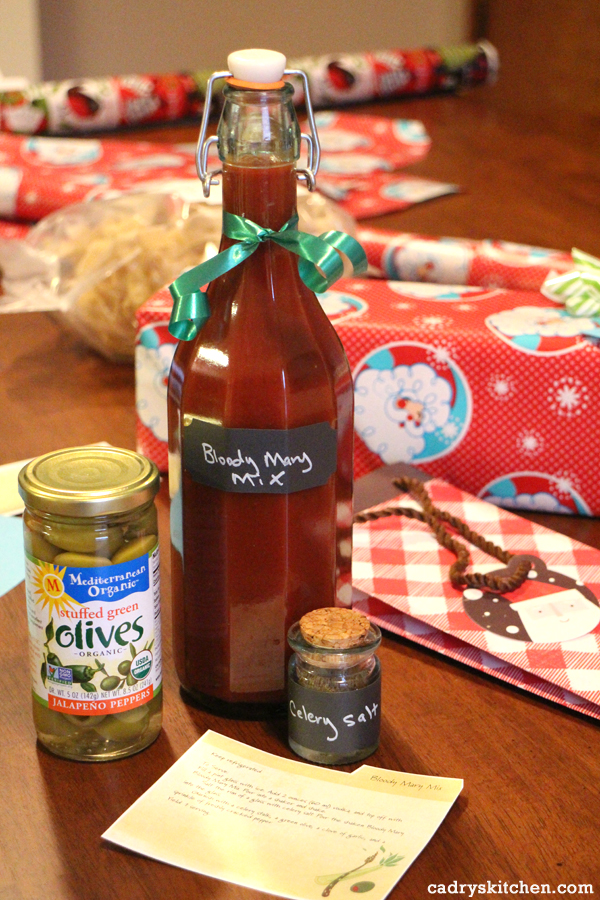 Bloody Mary Mix - Vegan Food Gifts