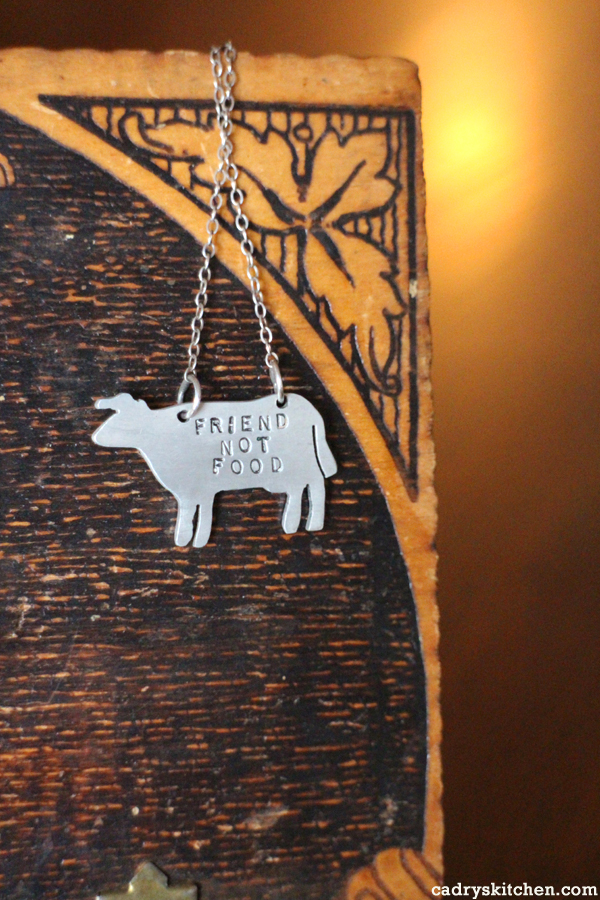 Vegan-themed jewelry + a giveaway from Christy Robinson Designs