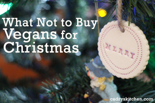 What Not To Buy Vegans For Christmas + How to find vegan clothing