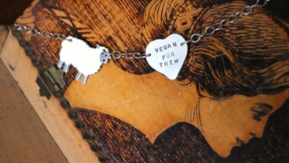 Vegan jewelry and a giveaway from Christy Robinson Designs