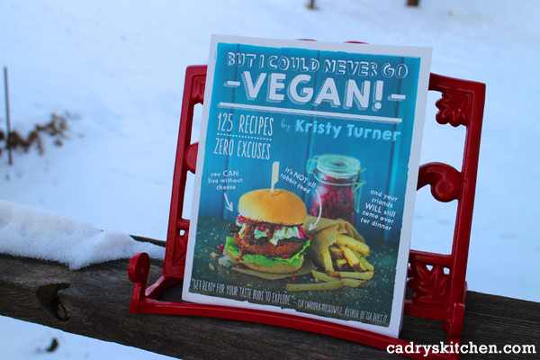 But I Could Never Go Vegan by Kristy Turner: Review & Giveaway