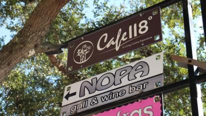 Cafe 118 Degrees - Winter Park, Florida