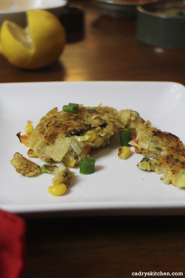 Artichoke Crab Cakes from But I Could Never Go Vegan by Kristy Turner