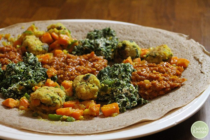 Vegan Ethiopian cookbook review | Teff Love: Adventures in Vegan Ethiopian Cooking by Kittee Berns | cadryskitchen.com