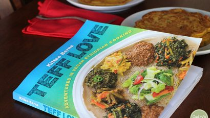 Vegan Ethiopian cook book review | Teff Love: Adventures in Vegan Ethiopian Cooking by Kittee Berns | cadryskitchen.com