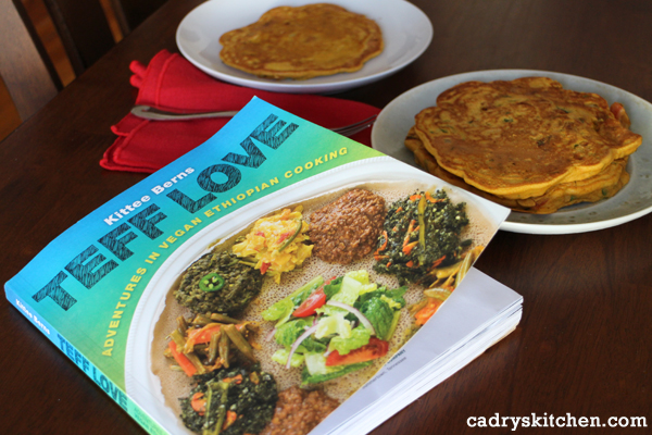 Teff Love: Adventures in Vegan Ethiopian Cooking by Kittee Berns