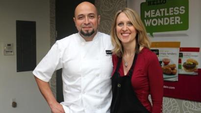 My day in the Gardein kitchen with Chef Roberto Martin | cadryskitchen.com