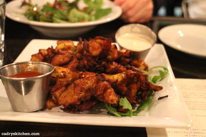 Fried artichoke hearts at Sage in Culver City